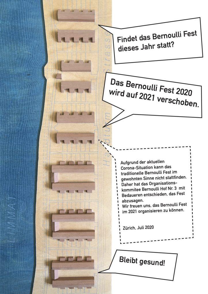 Bernoulli Fest Flyer 2020